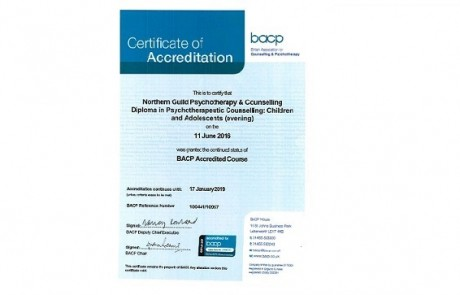 BACP DiP C&A (evening) Accreditation - Cert only