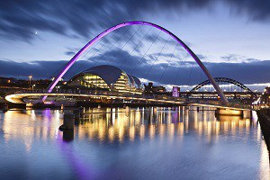 Newcastle upon Tyne Quayside
